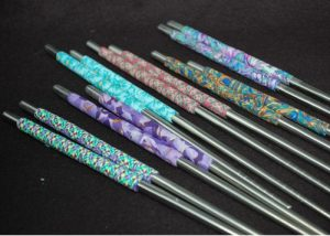 Decorated Stainless Steel Chopsticks